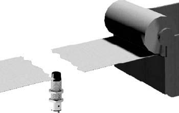 Контроль разрыва ленты емкостными датчиками