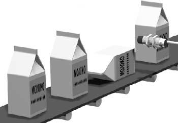 Контроль содержимого упаковки и счет тары емкостными датчиками