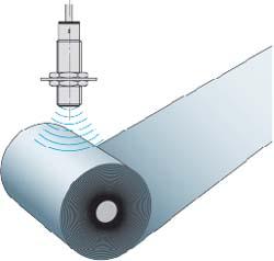 Измерение диаметра рулона